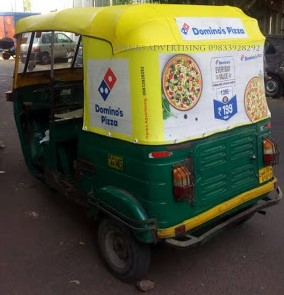 rickshaw autopanel advertising