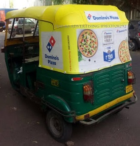 rickshaw autohood advertising