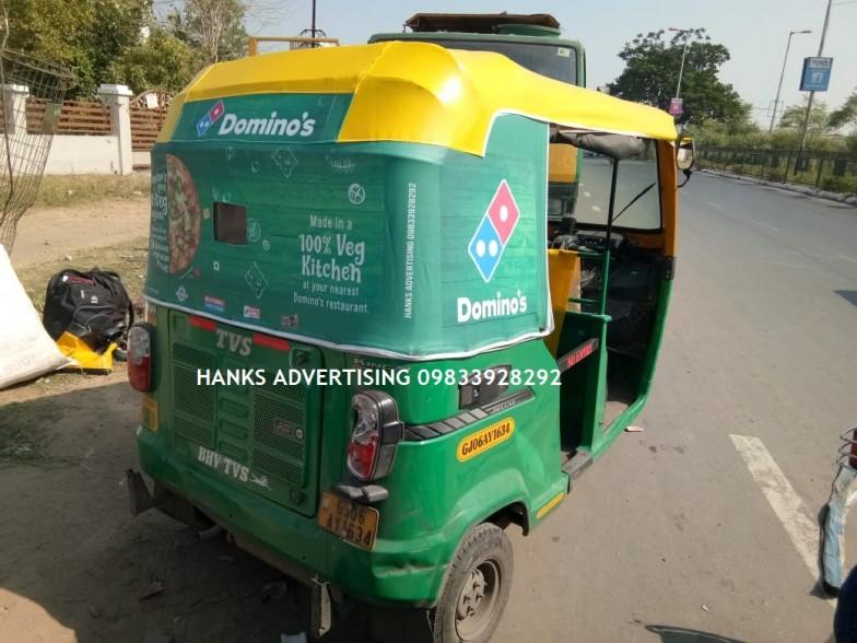 rickshaw advertising